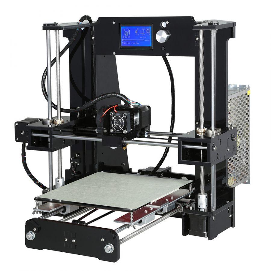 Reprap prusa i3 3d printer 2016 model baru fdm desktop yang diy 3d kit printer