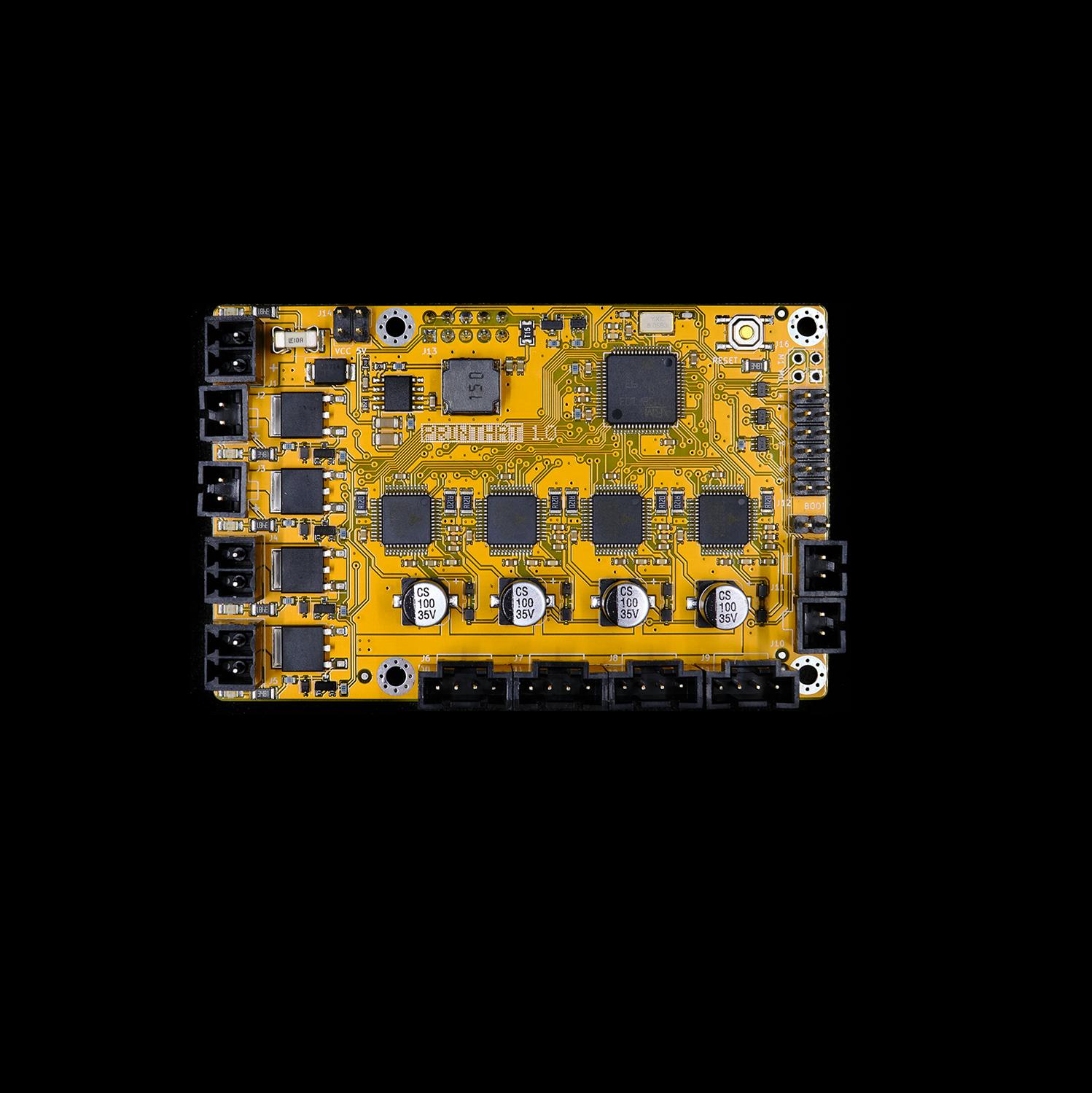 PrintHat v1 - 32-bit motor controller board for Raspberry Pi | 3D
